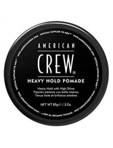 American Crew Heavy Hold Pomade - Помада для стайлинга супер стойкая, 85 г