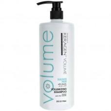 Organic Keragen Volumizing Sulfat-free Bio-system Shampoo - Шампунь для объема волос с кератином, 946 мл