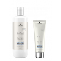 Schwarzkopf Professional BC Scalp Genesis - Шампунь для глубокого очищения волос, 200 мл