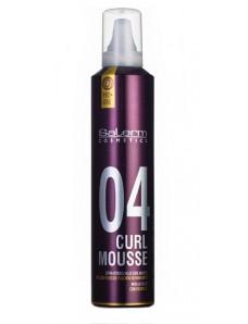 Salerm Pro Line Curl Mousse - Мусс-объем для укладки кудрявых волос, 300 мл