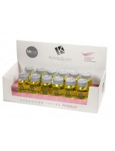 BBCOS Kristal Evo Hydrating lotion - Лосьон увлажняющий для волос, 12 ампул*10 мл.