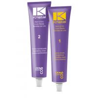 BBcos Kristal straight hair cream - Набор для выпрямления волос, 200 мл