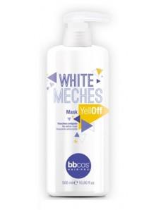 BBcos White Meches Yell-Off - Маска для нейтрализации желтизны осветленных волос, 500 мл