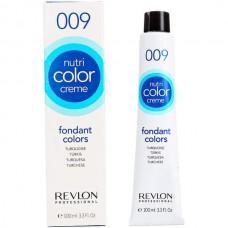 Revlon Nutri Color Creme Fondant Colors TURQUOISE - Экспресс тонирующий бальзам с блеском для волос, 100 мл