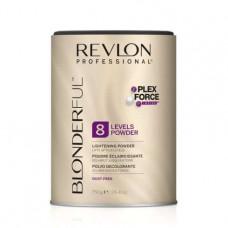 Revlon Professional Blonderful 8 Levels Lightening Powder - Многофункциональная осветляющая пудра, 750 г