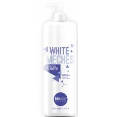 BBCOS White Meches - Шампунь для обесцвеченных волос, 1000 мл.