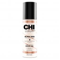 Chi Luxury Black Seed Oil Curl Defining Cream-Gel - Несмываемый крем для кудрявых волос, 147 мл