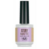 NUB Stay Matte - Матовый закрепитель для лака 15 мл
