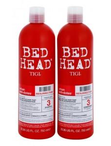 Tigi Bed Head Urban Antidotes Resurrection Восстанавливающий шампунь и кондиционер для ослабленных и ломких волос 750 мл x2