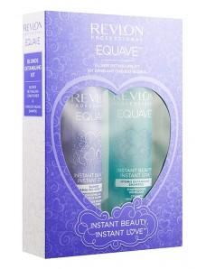 Revlon Professional Equave Love Box Blonde - Подарочный набор для увлажнения светлых волос (shm/250ml + cond/200ml)