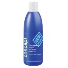 """Concept Men Шампунь для волос """"Жизненная сила"""", от выпадения 300 мл."""