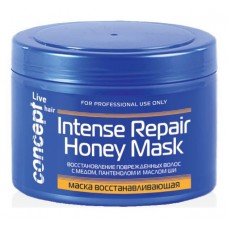 Concept  Маска восстанавливающая с медом для сухих и поврежденных волос, 500 мл