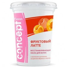 """Concept Fusion - Восстанавливающая маска """"Фруктовый латте"""" с экстрактом абрикоса и персика, 450 мл"""