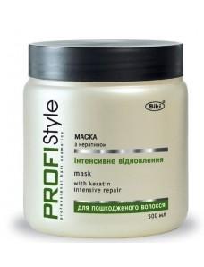 """PROFIStyle маска для волос с кератином """"Интенсивное восстановление"""", 500 мл"""