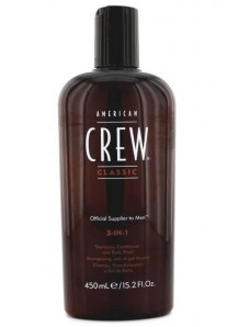 American Crew Classic 3-in-1 Shampoo, Conditioner & Body Wash Средство 3-в-1 по уходу за волосами и телом, 250 мл