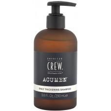 American Crew Acumen Daily Thickening Shampoo - Уплотняющий шампунь для волос 250 мл