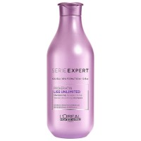 Loreal Professionnel Liss Unlimited Prokeratin Shampoo - Шампунь для сухих и непослушных волос с кератином, 300 мл