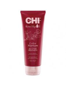 Chi Rose Hip Oil Recovery Treatment - Восстанавливающая маска с маслом розы и кератином 236 мл
