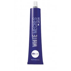 BBCOS White Meches Bleaching Cream - Крем для обесцвечивания волос, 120 мл