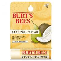 "Burt's Bees Coconut & Pear Moisturizing Lip Balm - Увлажняющий бальзам для губ ""Кокос и груша""4,25г"
