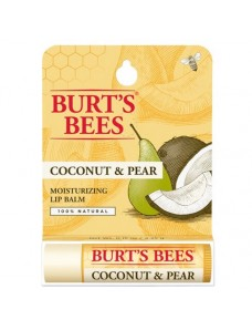 "Burt's Bees CoBurt's Bees Coconut & Pear Moisturizing Lip Balm - Увлажняющий бальзам для губ ""Кокос и груша""4,25гconut & Pear Moisturizing Lip Balm"