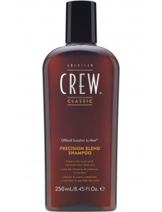 American Crew Precision Blend Shampoo - Шампунь для волос после маскировки седины, 250 мл