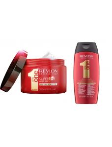 Uniq One Набор волос  - Шампунь без сульфатов 350 мл+ Маска 300 мл