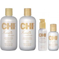 Набор подарочный CHI Keratin (treat/59ml + shamp/355ml + cond/355mll)