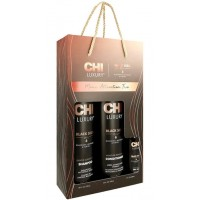 Набор CHI Luxury Black Seed Oil (shm 739ml + cond/739ml + oil/89ml)