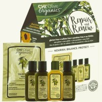 AKЦИЯ - Hабор CHI Olive Organics Repair and Renew 5*59 ml