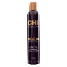 Лак для волос - CHI Deep Brilliance Flex & Hold Hairspray 284 г