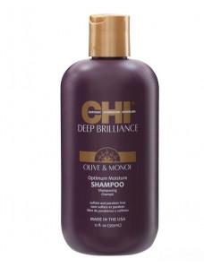 CHI Deep Brilliance Optimum Moisture Shampoo - Увлажняющий шампунь для поврежденных волос 350/900 мл