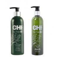 CHI Tea Tree Oil - Набор с маслом чайного дерева 739 мл*2