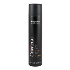 Kapous Professional Gentlemen - Мужская пена для бритья, 300 мл