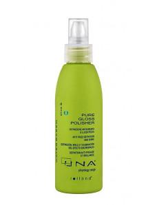 Rolland Una Pure Gloss Polisher - Средство для блеска и разглаживания непослушных волос 150 мл