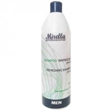 Mirella Professional Shampoo - Шампунь для мужчин, с ментолом и касторовым маслом, 1000 мл