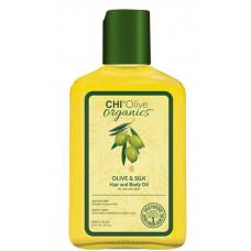 Chi Olive Organics - Шелковое масло для волос, 59 мл