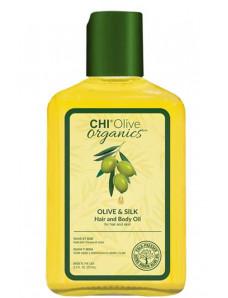 Chi Olive Organics - Шелковое масло для волос и тела 59 мл
