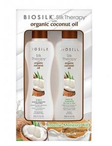 Biosilk Silk therapy Coconut Kit - Набор Шелковая терапия на основе кокосового масла