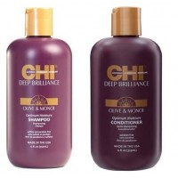 CHI Deep Brilliance Olive & Monoi Oil - НАБОР ВОССТАНАВЛИВАЮЩИЙ 950 мл*2