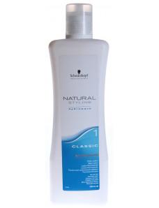 Schwarzkopf Professional Natural Styling Classic Lotion 1 - Лосьон для химической завивки нормальных и слегка пористых волос, 1000 мл