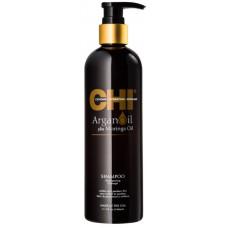 CHI Argan Oil Shampoo - Шампунь питательный восстанавливающий 340 мл