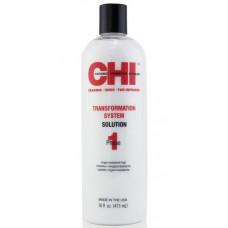 CHI Transformation Solution Formula A - Выпрямляющая жидкость для натуральных волос, Фаза 1  437 мл