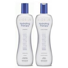 Biosilk Hydrating Therapy Kit - Набор для увлажнения волос Шампунь+Кондиционер