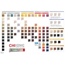 CHI Ionic Permanent Hair Color Shade Chart