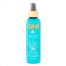 Chi Aloe Vera Humidity Resistant Leave-In Conditioner - Несмываемый кондиционер для защиты волос от влажности, 177 мл