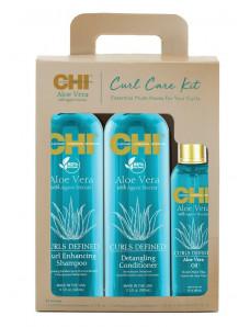 CHI Aloe Vera - Набор для ухода за вьющимися волосами