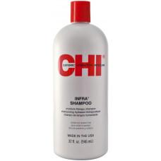CHI Infra Shampoo - Увлажняющий шампунь для всех типов волос, 946 мл