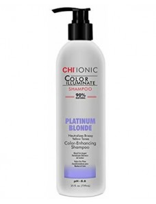 CHI Ionic Color Illuminate Shampoo - Тонирующий шампунь Platinum Blonde 355 мл