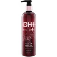 CHI Rose Hip Oil Protecting Conditioner - Кондиционер питательный для сохранения цвета 355 мл